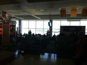 Picture of The view from Gordon Biersch, at Oakland Airport