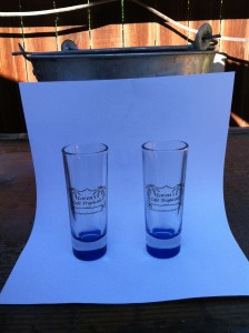 Picture of Cafe Tropicale shot glasses