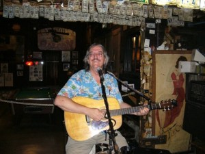 picture of Loren at the World-Famous Captain Tony's Saloon