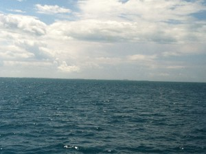 Picture of Key West from a distance.