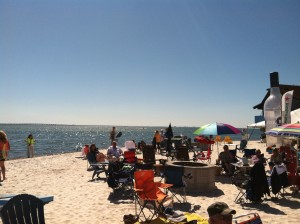 Picture of the beach at Whiskey Joe's